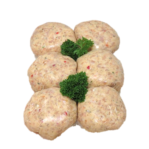 Image 1 for Thai Lemongrass & Coriander Chicken Burgers
