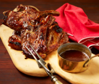 Image 1 for Sticky Bourbon BBQ Chops