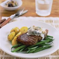 Image 1 for Steak with mushroom ragout