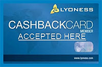 Lyoness Cashback Card - Accepted at Sunnyside Meats